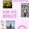 afis mic flori fete biciclete
