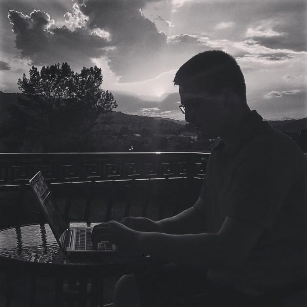 cristian ghinghes kristofer work laptop curtea de arges