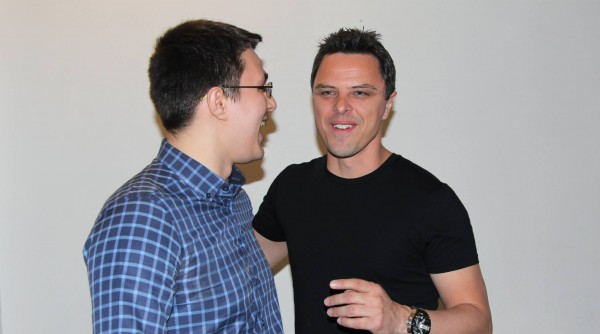 kristofer cristian ghinghes with markus schulz