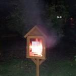 biblioteca strada incendiata bacau vandalizata