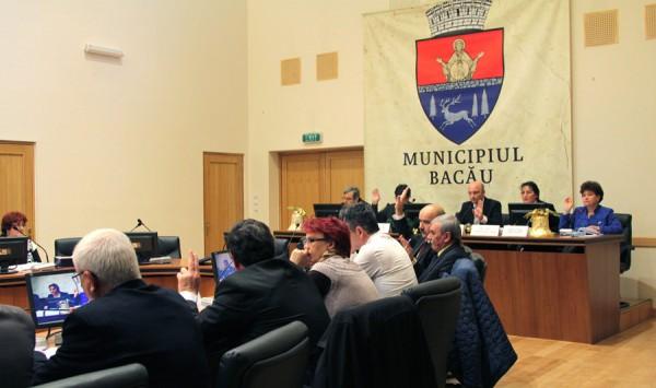 sedinta consiliul local bacau 28 decembrie 2015