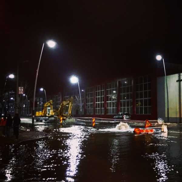 8 strada milcov inundata