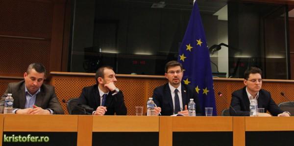 cosmin necula vizita parlamentul european bruxelles (3)