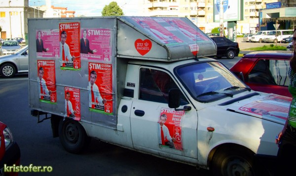 psd campanie electorala 2008 bacau