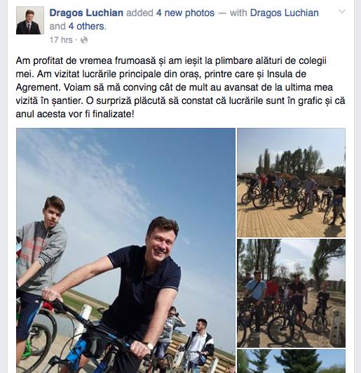 dragos luchian insula bicicleta