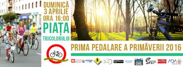 prima pedalare a primaverii bacau 2016