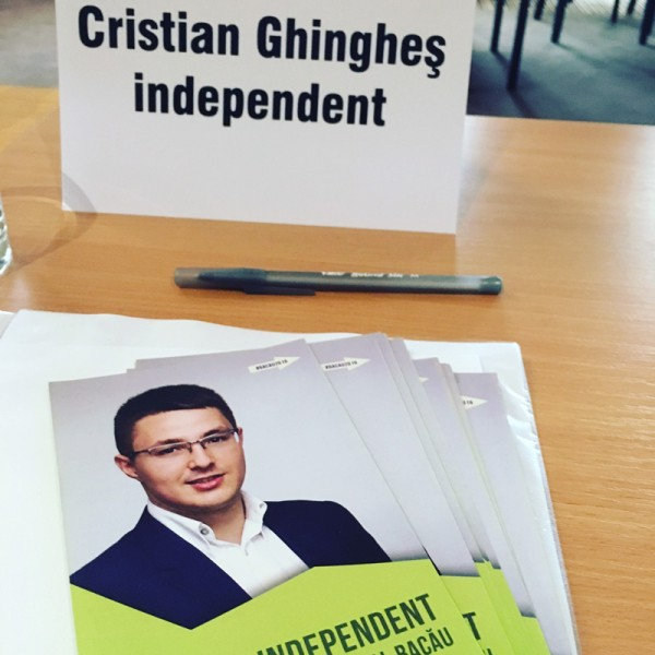 cristian ghinghes candidat independent dezbatere