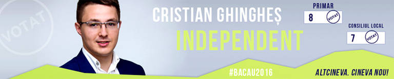 Cristian Ghingheș candidat independent