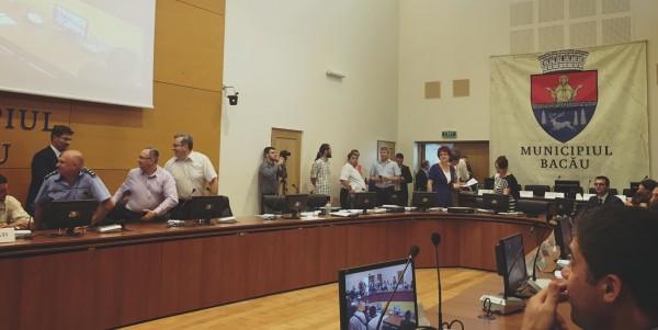 consiliul local bacau constituire