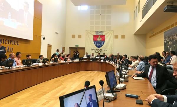 sedinta consiliul local bacau 8 iulie 2016