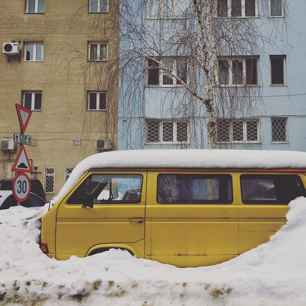 7 iarna bucuresti masina