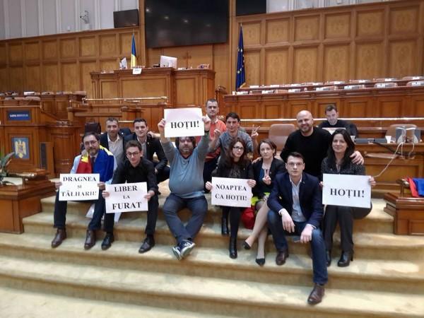 viziteu parlament protest ordonanta