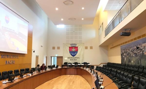 sala sedinte consiliul local bacau centrul de afaceri