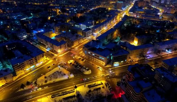 municipiul bacau noaptea