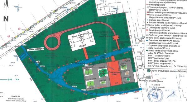 plan amenajare teren parc fagaras