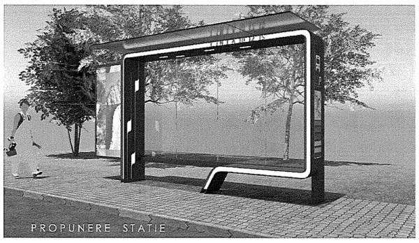 proiect statii autobuz