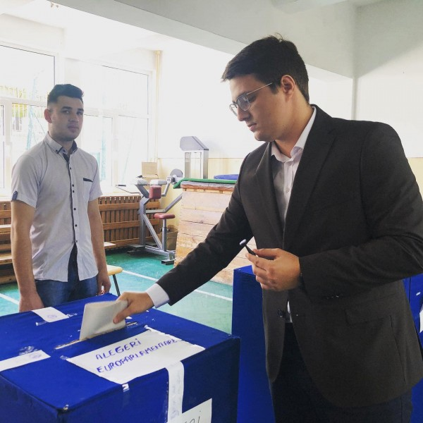 cristian ghinghes vot alegeri europarlamentare