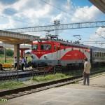 Tren rapid in Gara Bacau (1)