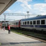 Tren rapid in Gara Bacau (2)