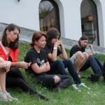Csibi Magor si Mircea Toma la Maratonul Comunicarii-2