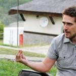 Csibi Magor si Mircea Toma la Maratonul Comunicarii