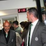 Sporting Lisabona a aterizat la Bacau (3)