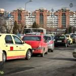 Trafic de sarbatori in Bacau (1)