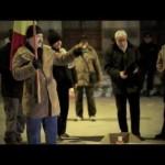 Protestatarii băcăuani le-au cântat prohodul lui Băsescu şi Boc