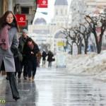 Se topeste zapada in Bacau (1)