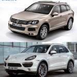 VW Touareg vs. Porsche Cayenne (1)
