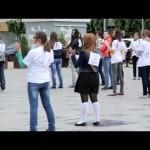 Flashmob-ul Consiliului Județean al Elevilor a deschis activitățile SNV
