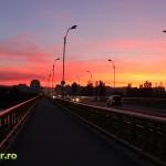 Apus in Bacau - Podul de la Serbanesti