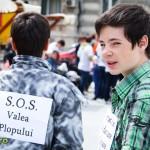 flashmob bacau valea plopului cje bacau saptamana nationala a voluntariatului (2)