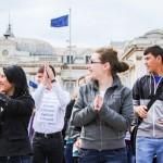 flashmob bacau valea plopului cje bacau saptamana nationala a voluntariatului (6)
