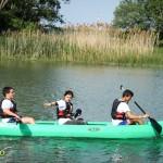 plimbare concurs caiac lacul bacau ii saptamana nationala a voluntariatului cre (2)