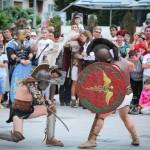 romani si daci in bacau gruppo storico romano (13)