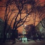 parcul cancicov noaptea