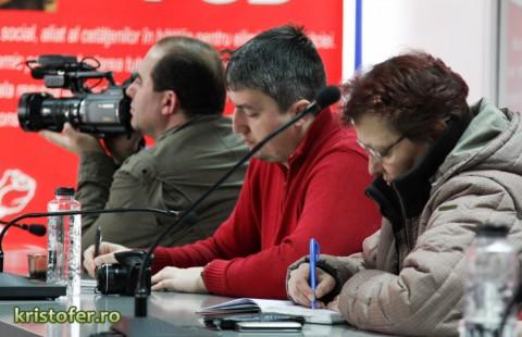Conferinta de presa PSD Bacau Dragos Benea Sorin Brasoveanu 2013 (3)