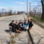 Tineri pentru Bacau - flori in asfalt Bacau (1)