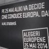 panou promovare alegeri europene 2014